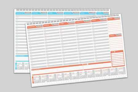 Настолен календар бележник
